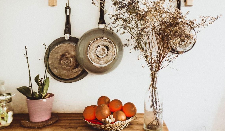 decorar las paredes de la cocina